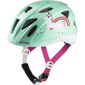 Alpina Ximo Flash Cykelhjelm Børn turkis/farverig